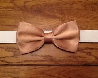 Bow tie dog wedding collar any colour