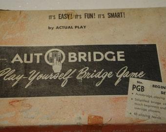 Cool 50's Learn how to play Bridge- Auto Bridge