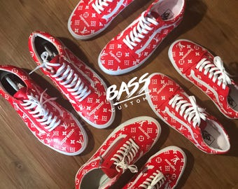 Supreme x Louis Vuitton VANS