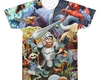 Ghosts 'n Goblins Arthur Sublimated T-shirt