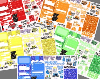 Color Sampler Sheets