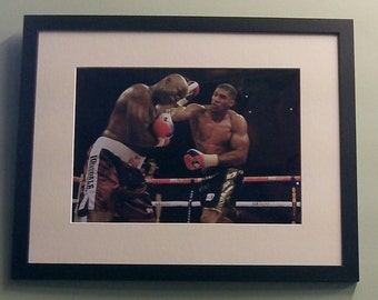 Anthony Joshua 8' x 12' Colour photo