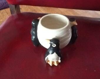 Vintage Pottery Trinket Bowl