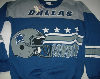 Dallas Cowboys NFL football  vintage sweatshirt by Garan made in the USA New with tags