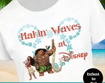 Moana Shirt, Maui Shirt, Pua Shirt, Disney Hawaiian Shirt, Disney Moana Shirt, Disney Maui Shirt, Disney Pua Shirt, Moana Tank, Maui Tank