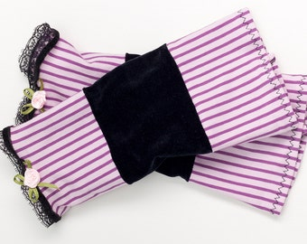 Romantic Mittens Arm Warmers Wrist Warmers Size M/L