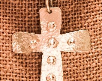 Gorgeous Silver Cross Pendant
