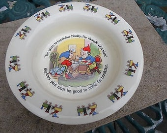 Royal Albert Noddy Collection Baby Bowl - Mint Condition