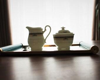 Duet sugar bowl/jam - Creamer vintage