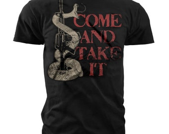 Black Ink Men's 2nd Amendment T-Shirt (MT690)
