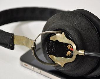 Soviet Military Headphones, Radio Man Headphones, Military Earphones, Military Collectible, Steampunk headphones, airsoft Fallout