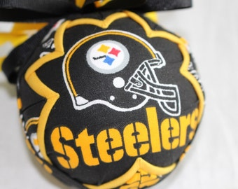 Pittsburgh Steelers Fabric Quilted Ornament