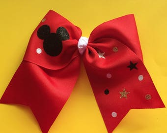 Mouse inspired Hairbow