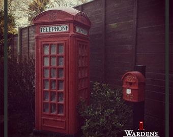 K2 Style London Red Telephone Box