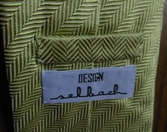 1980s Silk Tie