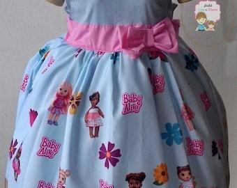 Baby Alive Dress Children girl dress baby Alive Baby Alive Birthday Dress