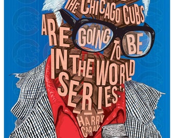 Famous Hair / Lines: Harry Caray