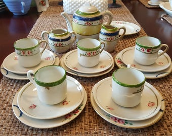 18pc vintage Children's tea set
