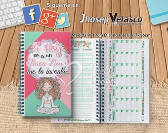 Organizer of expenses 17x9cm PPTX + digital papers