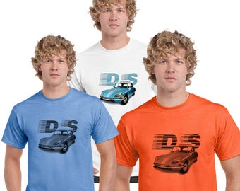Citroen DS T-Shirt by Ameiva Apparel