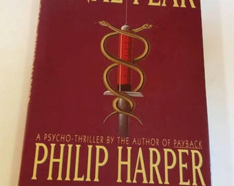 Final Fear by Philip Harper    Hardcover 1st Edition    Thriller