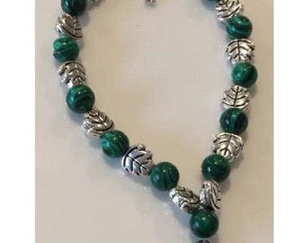 Natural Malachite Bracelet