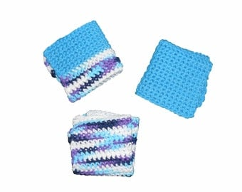 Homemade Crochet Washcloths