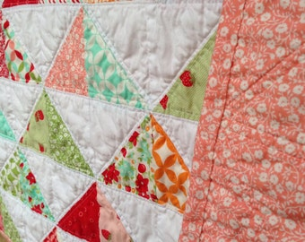 Strawberry Baby Quilt