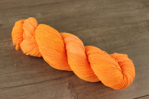 Owange is my favwite!! hand dyed tonal