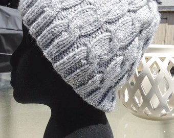 Cable Knit Women's Hat- Made to Order