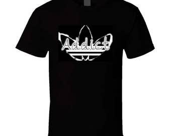 Addict / White T Shirt
