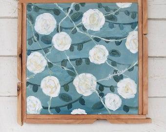 "floral painting - flowers - ""joy"" - original painting"
