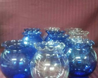 Indiana glass vases. Buyer's choice. 10 available.