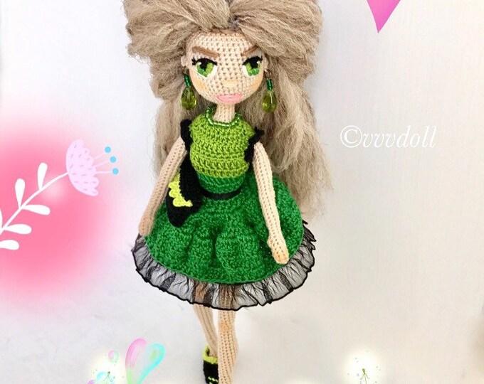 Crochet doll Bety