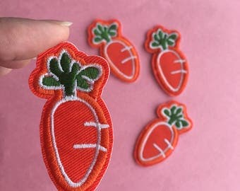 Carrot iron on patch