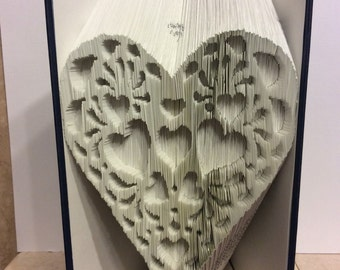 Valentine Book fold