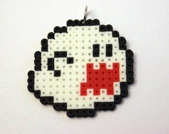 Boo - Super Mario Bros. - Mini Perler Beads