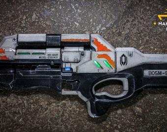 Cerberus Harrier Assault Rifle, cosplay replica,  props
