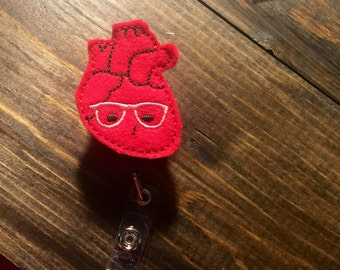 Geeky Heart badge reel