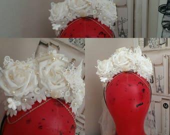 Bridal inspired headpiece