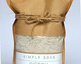 Detox {Bath Bomb in a bag} // Detox Clay Bath