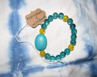 Bead and Gemstone Bracelet