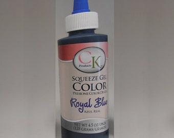 CK Products Royal Blue Gel Color 4.5oz