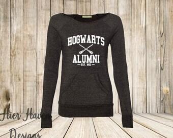 Hogwarts Alumni eco fleece sweatshirt - Harry Potter gift