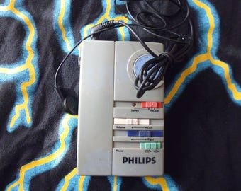 VTG 1980 Philips portable Radio