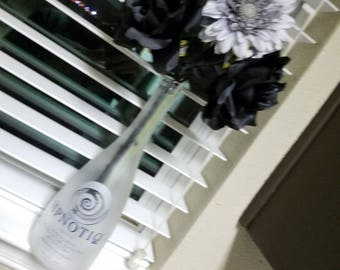 Mancave floral arrangements hpnotiq bottle home decor