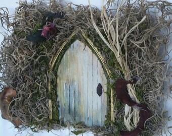 Fairy garden/ Fairy garden door/ Minature Fairy/ Garden Decor/Pixie house/ fairy accessories /troll/ fairy house/fairy garden ideas/OOAK