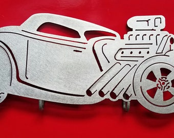 1934 Ford Coupe Metal Art