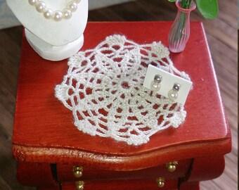 Miniature Crochet Doily