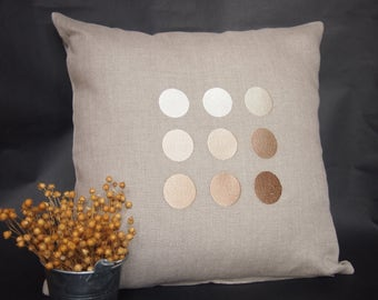 Linen Cushion Cover, Pillow Cover, Home Accessory, Linen Bedding, Linen Gift